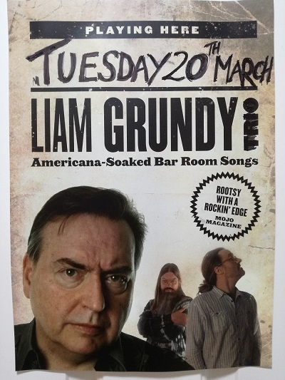 Liam Grundy Live at The Masons