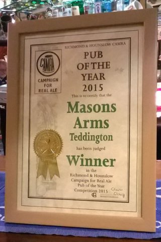 Pub of the Year 2015